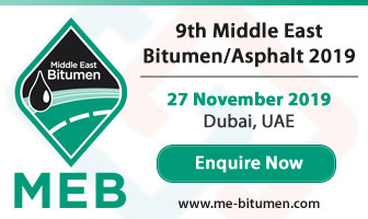 9th Middle East Bitumen/Asphalt 27 November 2019