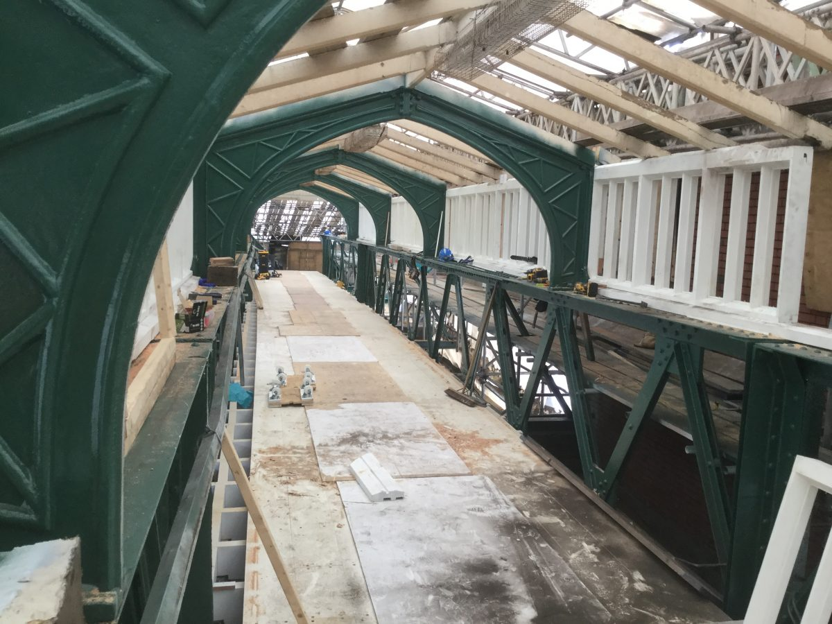 Network Rail upgrade work at Shrewsbury Station almost complete