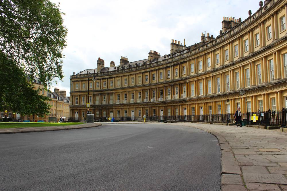 Miles Macadam complete resurfacing project at the historic Circus in Bath