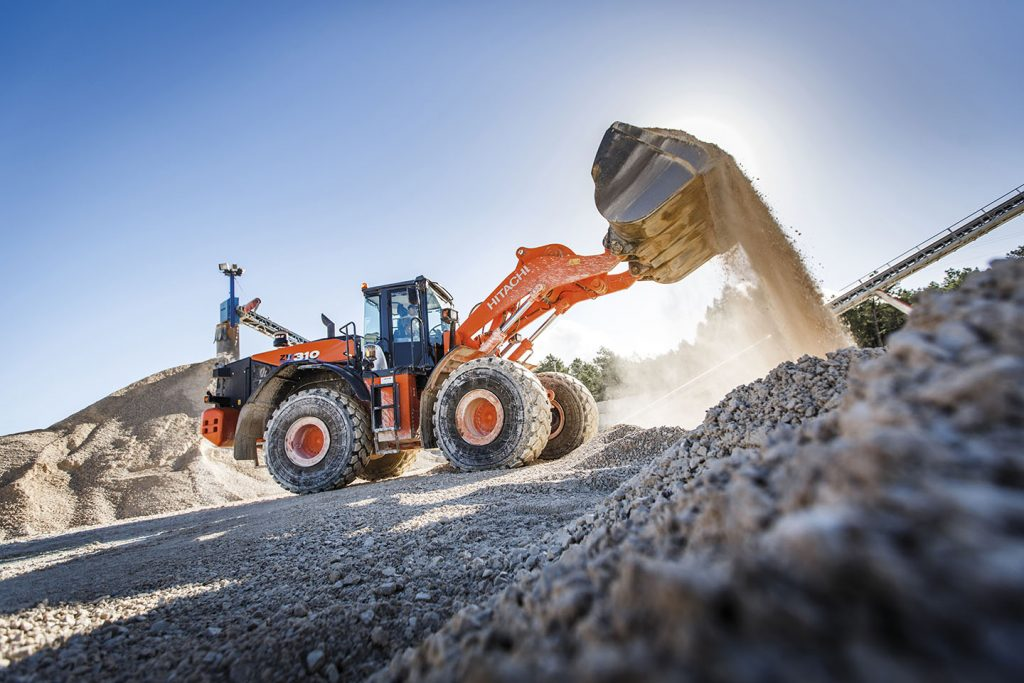 Filstone limestone quarry adds Hitachi ZW310-6 wheel loader in Portugal