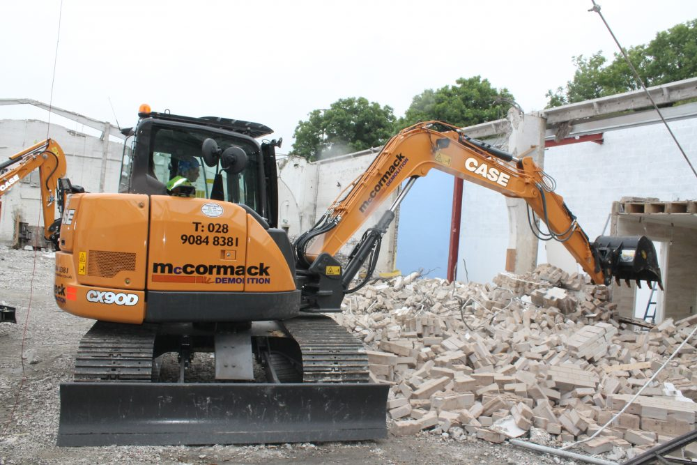 CASE sell their first Stage V construction machine into Ireland