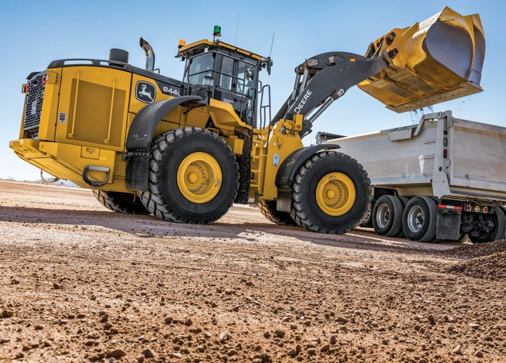 John Deere wheels out powerful new L-Series Loaders