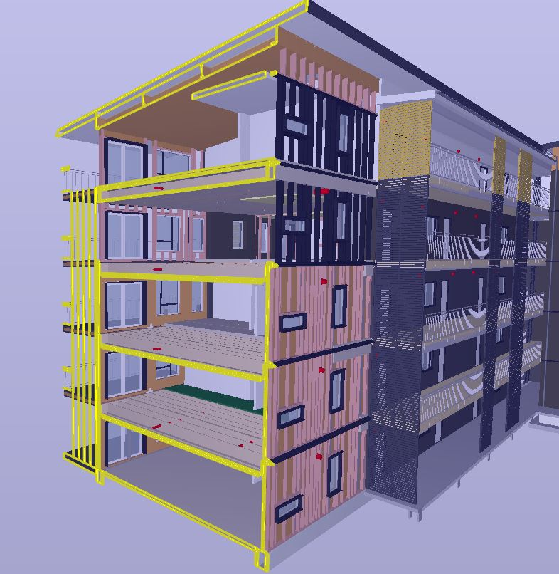 Verksbyen, a new green neighbourhood in Fredrikstad in Norway, showcases the future of sustainable living. As part of the project, construction company Arca Nova Bolig is building five five-storey apartment buildings situated in Capjon Park area in Verskbyen. The buildings are being constructed using Metsä Wood's Kerto® LVL (laminated veneer lumber) products – making the construction fast, light and green.