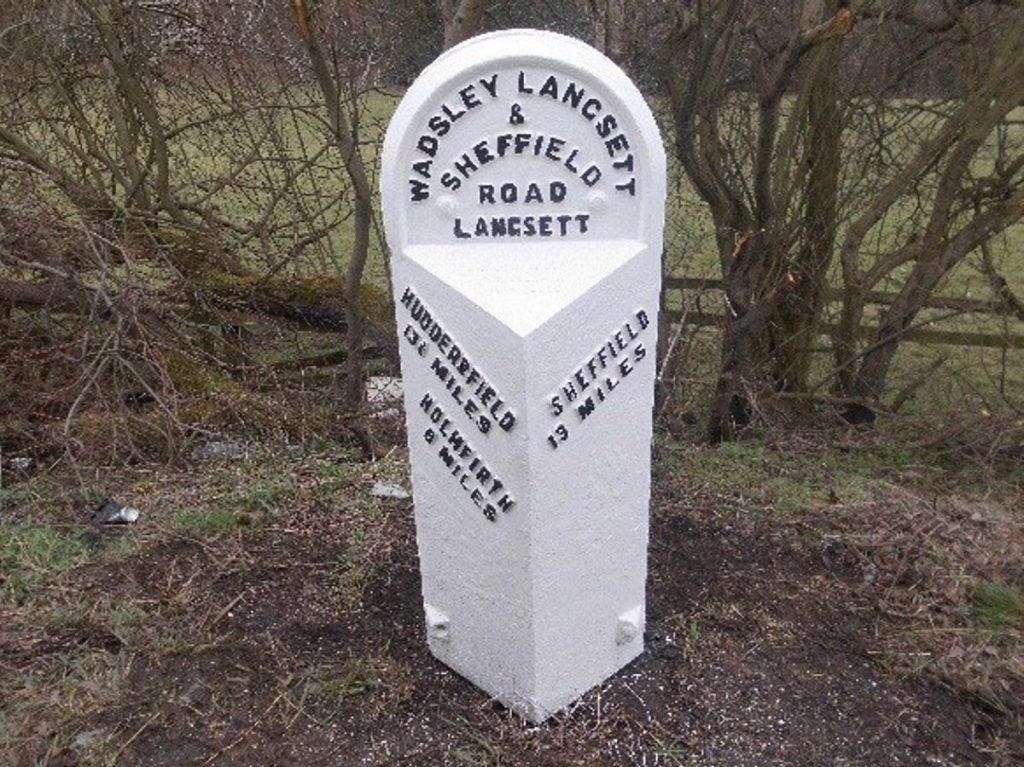 Highways England restoring historic mileposts in Yorkshire