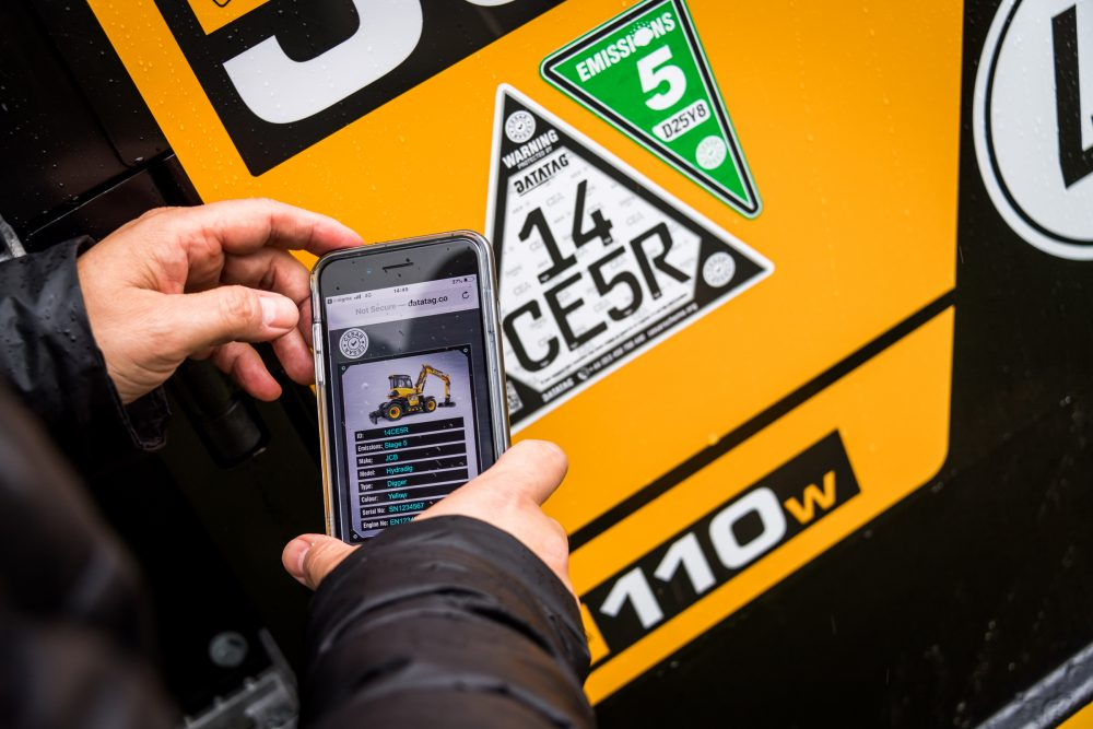 The ECV is a new version of CESAR which provides an immediate visual check on compliance backed up by a scannable QR code
