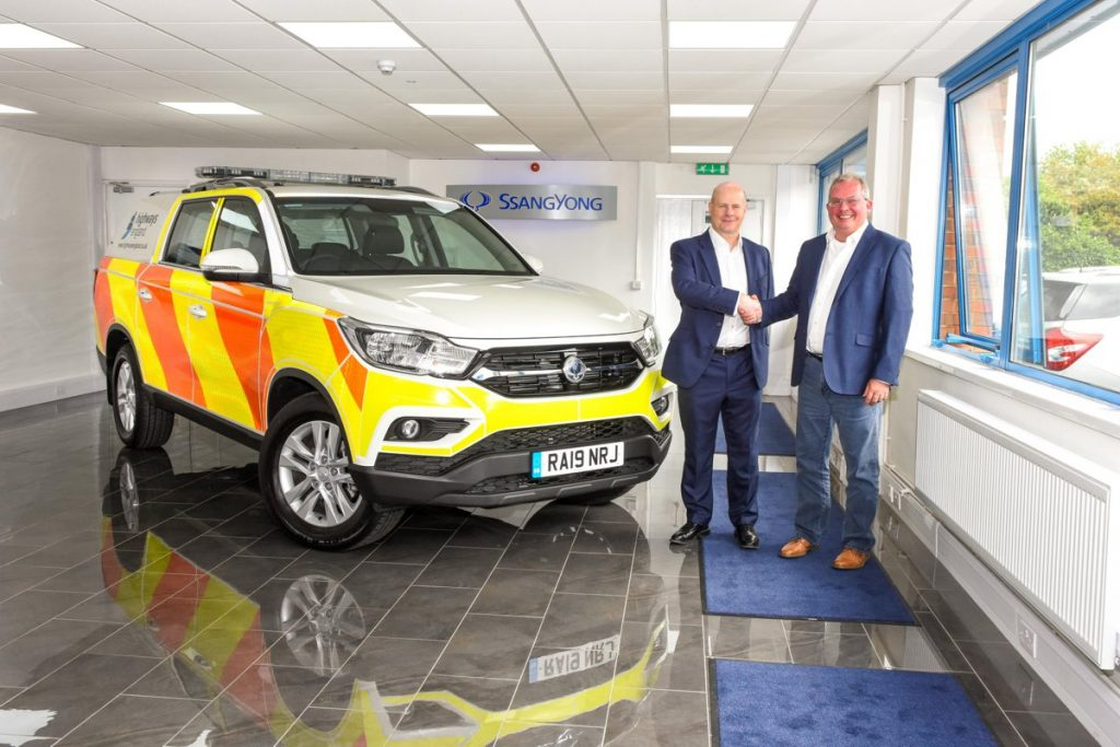 SsangYong awarded contract for 32 modified Musso vehicles for Highways England