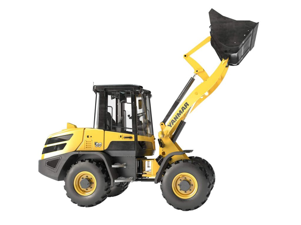 Yanmar V80 compact wheel loader features lower emissions and more power