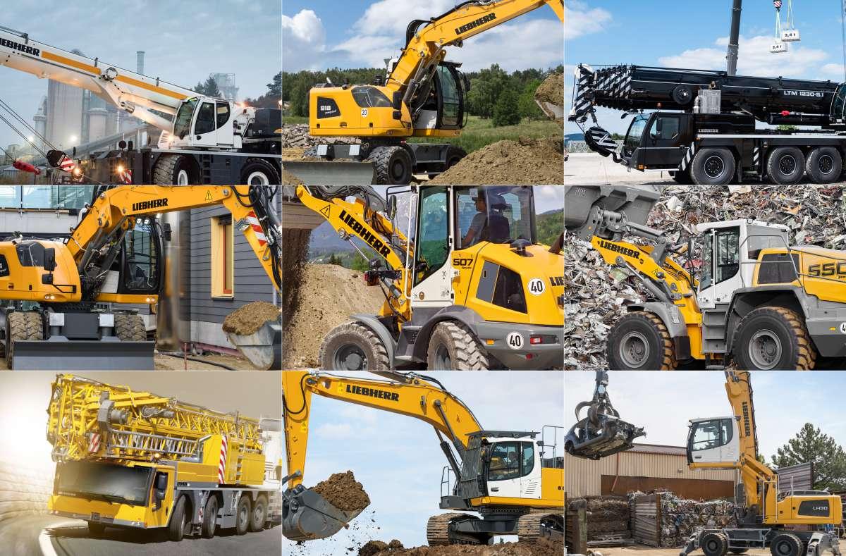Liebherr will unveil their latest Construction Machinery in Finland