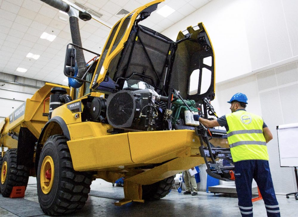 VolvoCE Masters Competition is the toughest challenge for Construction Technicians