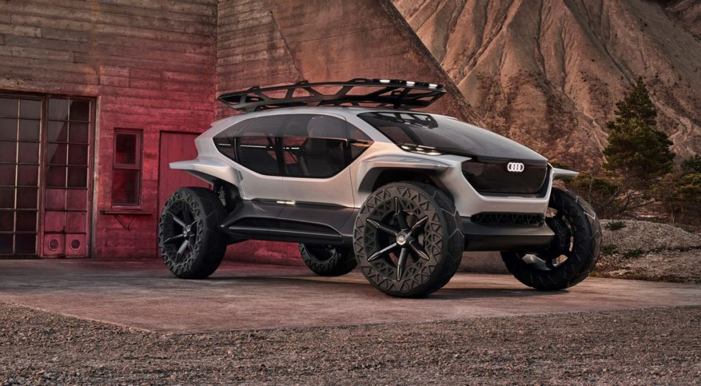 AI:TRAIL Quattro from Audi is the off-roader of the future