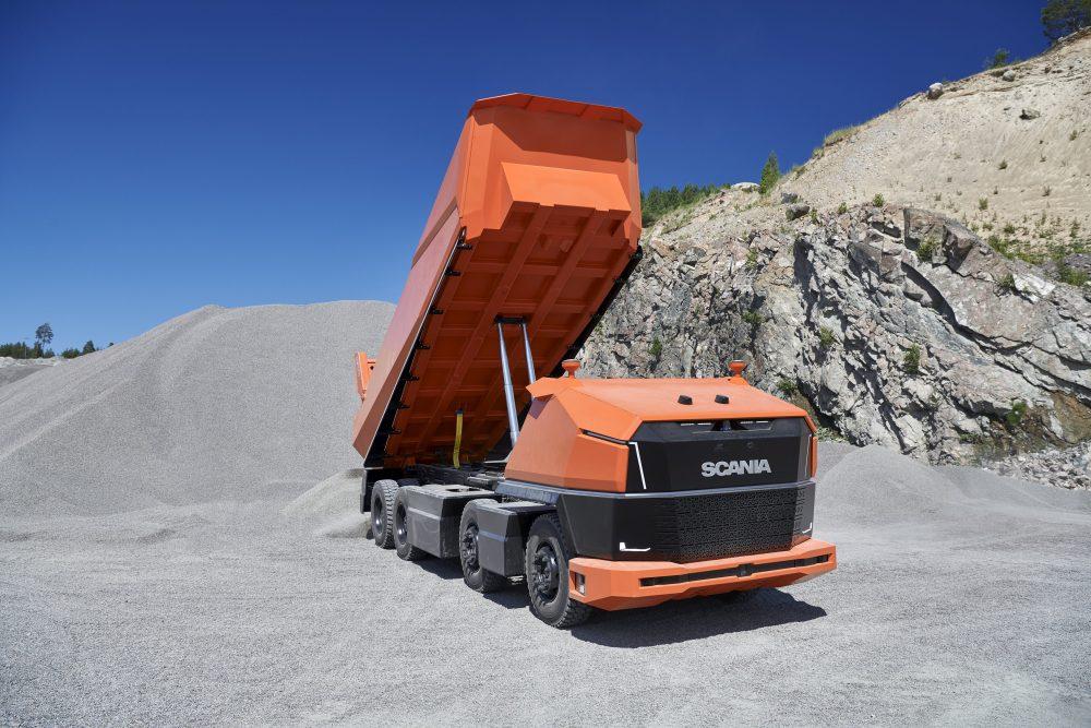 Scania develop the AXL fully autonomous concept truck