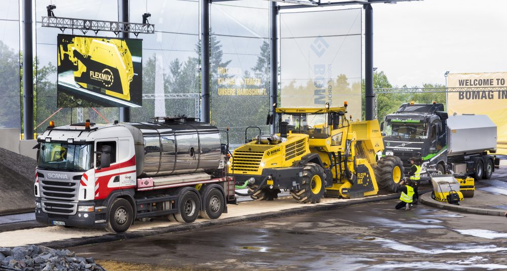 Bomag showed off the future of road construction at their Innovation Days