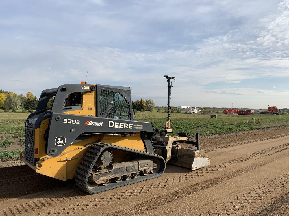 Topcon machine control enables Contractor to meet challenges in Saskatoon