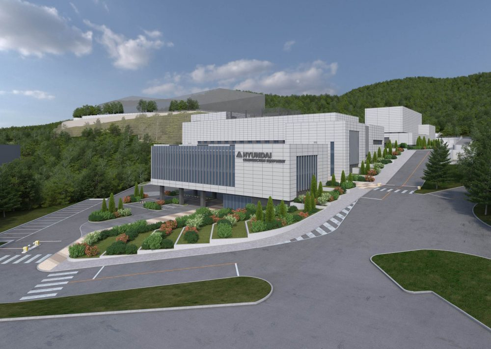 Hyundai Construction building large-scale Reliability Assessment Centre in South Korea