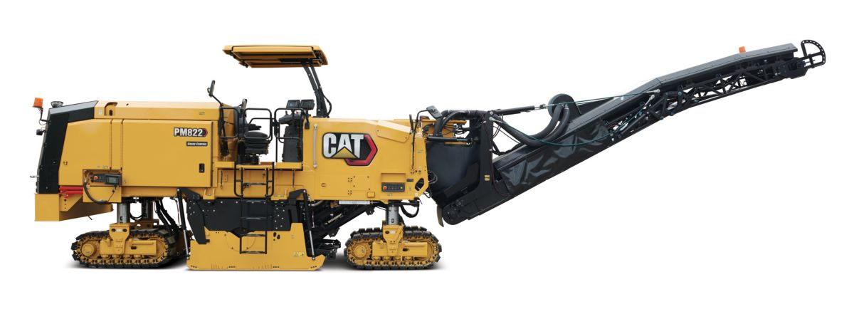 Cat updates half-lane Cold Planers to improve operation and service