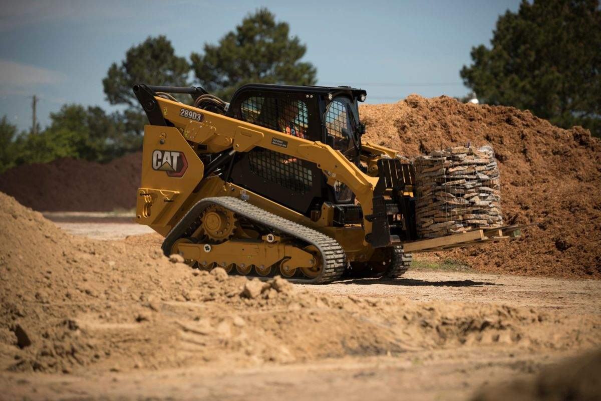 New Caterpillar D3 Series Skid Steer and Compact Track Loaders rolled out