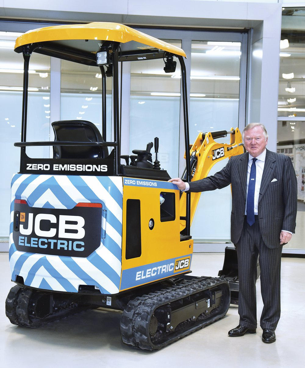 JCB set new records for turnover, machine sales and earnings in 2018