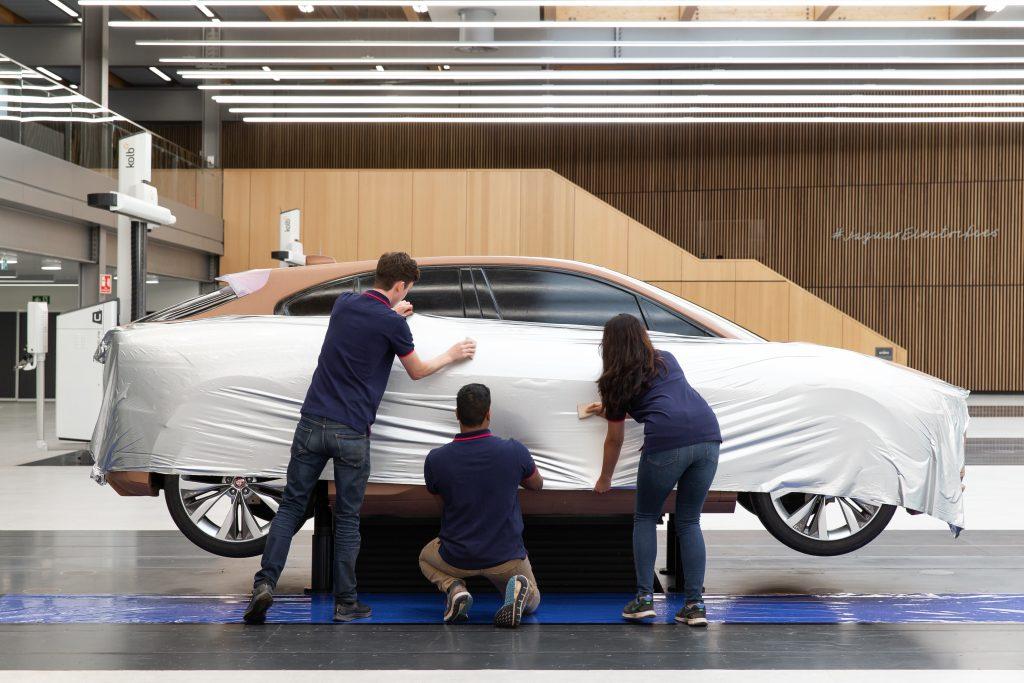 Behind the scenes at the new Jaguar Design Studio