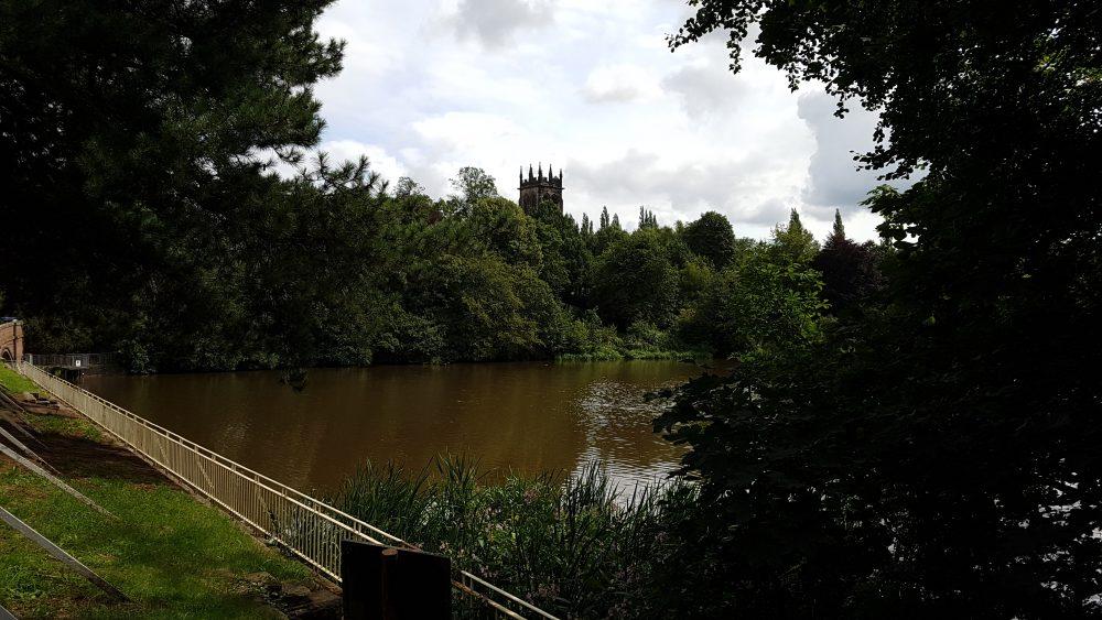 Lymm Dam in Cheshire