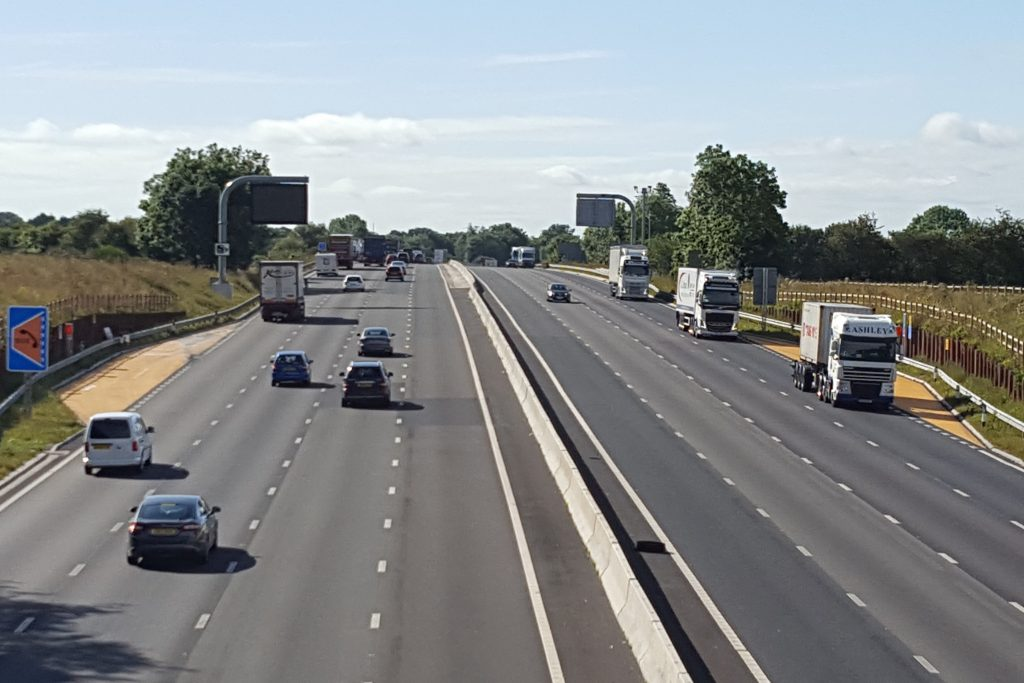 Extra Smart Motorway lanes are saving drivers 40 minutes each week