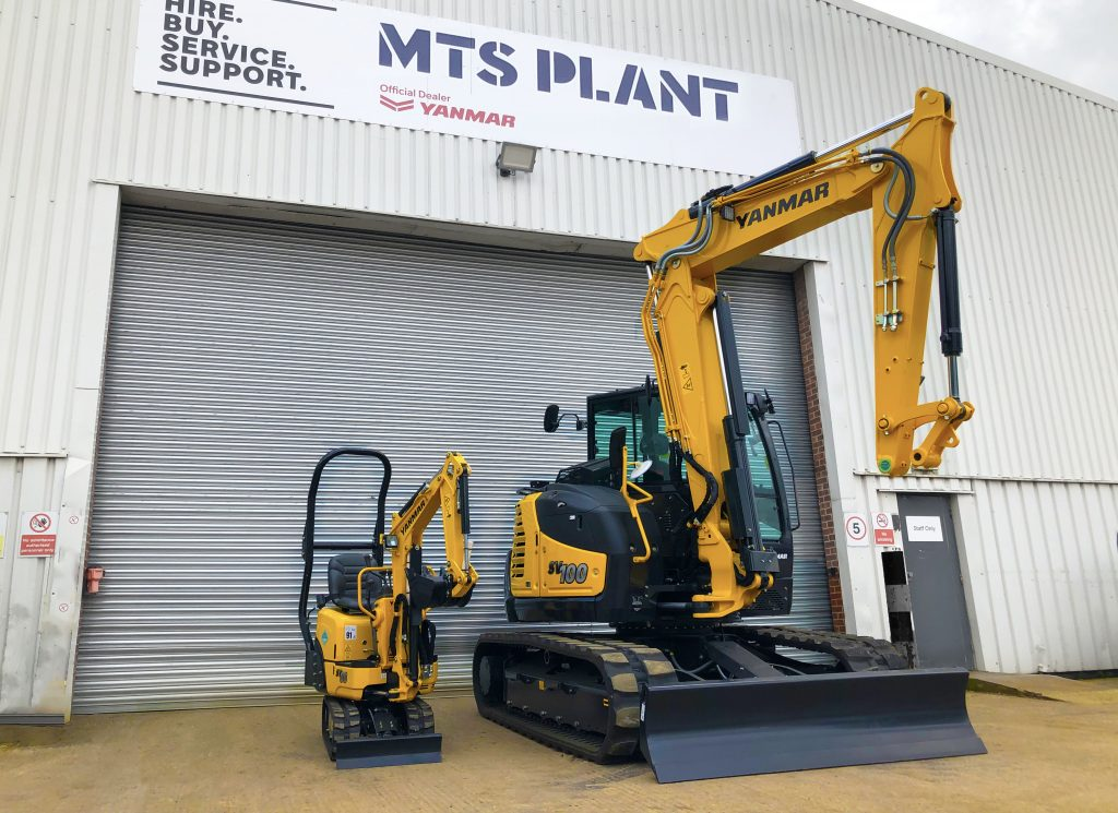 MTS Plant expanding territory in Scotland with Yanmar Construction Equipment