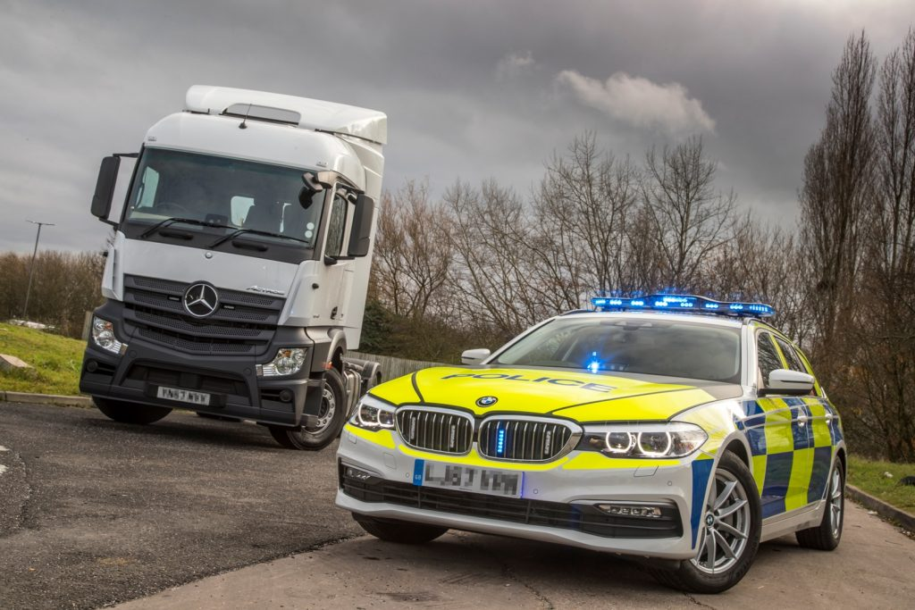 The HGV supercab, which is funded by Highways England, will also be used on the M62 by police forces across the North during the four-week initiative. The cab allows police officers to film evidence of unsafe driving behaviour by pulling up alongside vehicles, and drivers are then pulled over by police cars following a short distance behind.