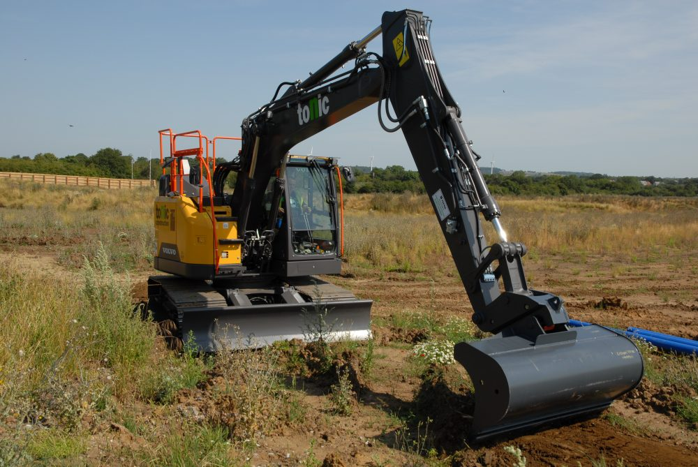 Tonic Construction breaks with tradition with six new Volvo excavators