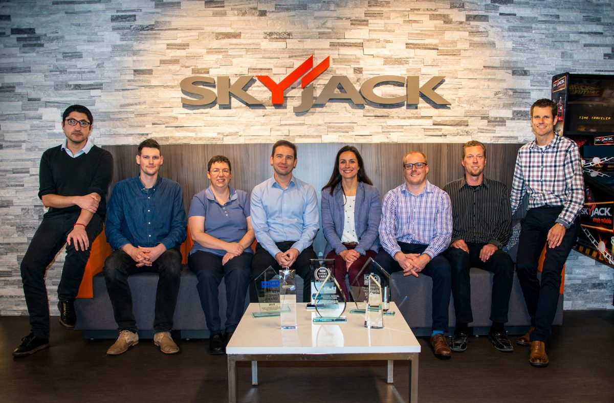 Skyjack wins awards for bringing true Telematics value to the off-highway industry