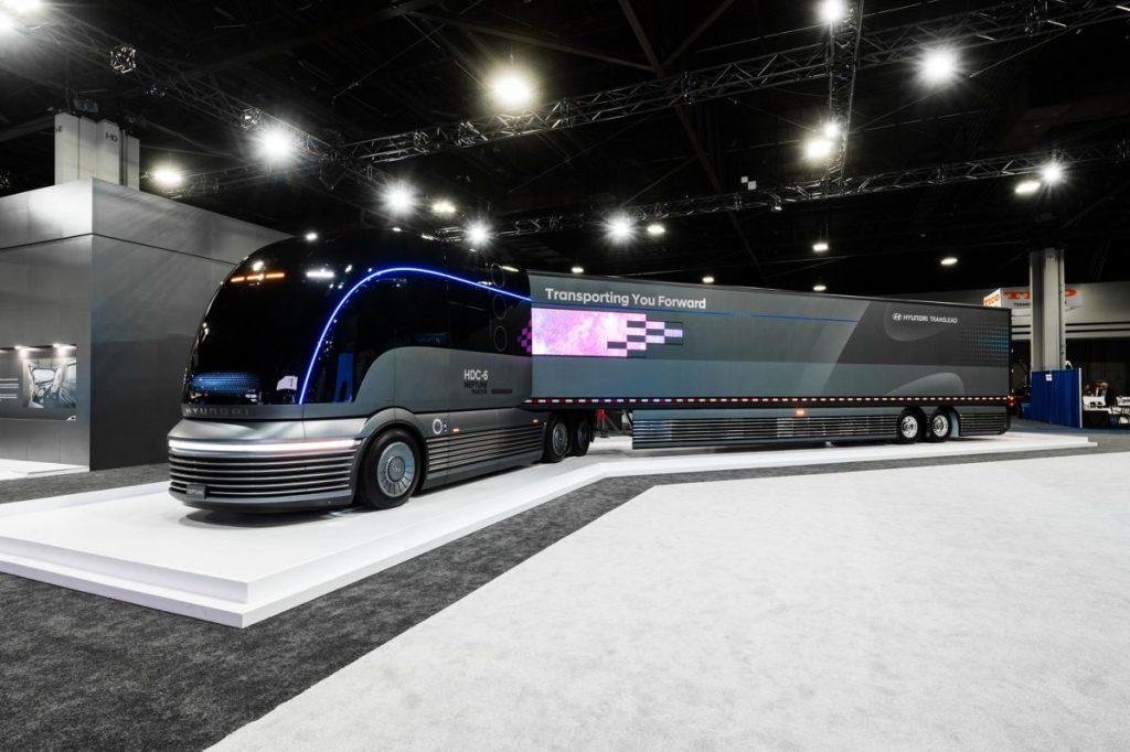Hyundai reveals their Truck Mobility Vision at NACV Show