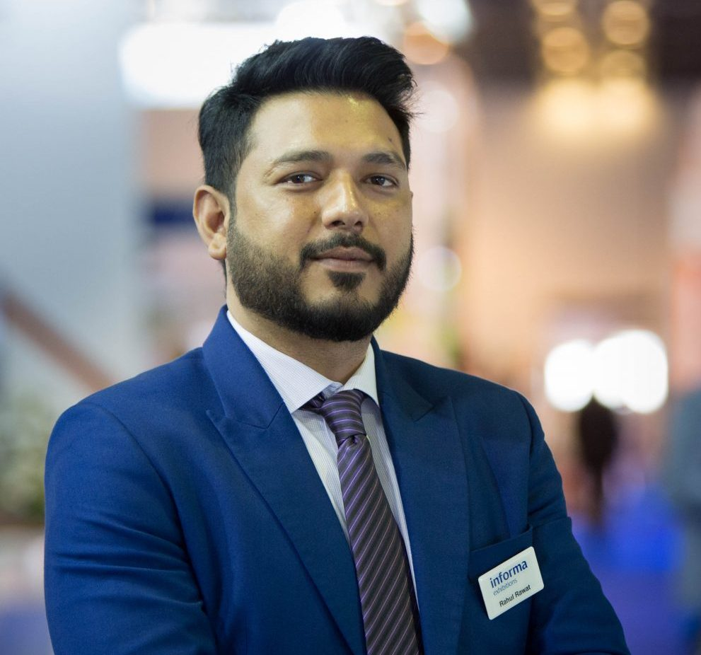 Rahul Rawat, Exhibition Director of Gulf Traffic