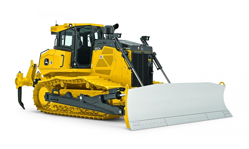 John Deere introduces Mechanical Angle Blade for 950K and 1050K Crawler Dozers