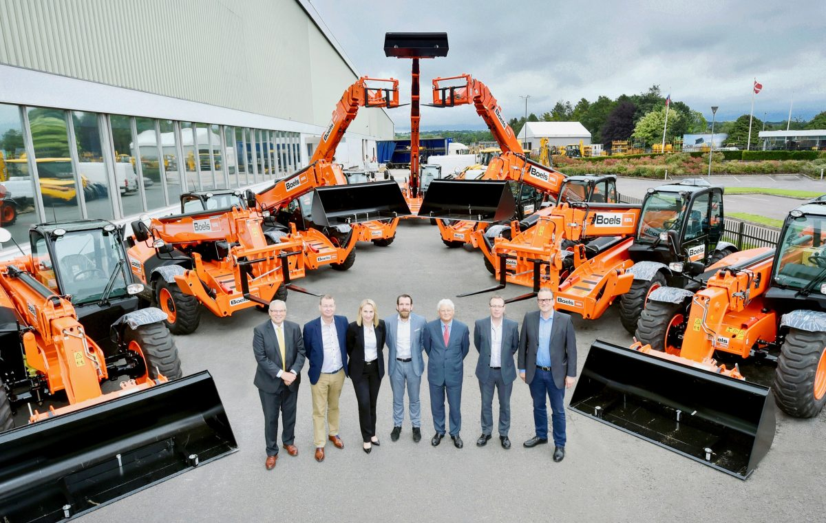Boels Rental invests €29 million for Europe wide JCB Hire Fleet