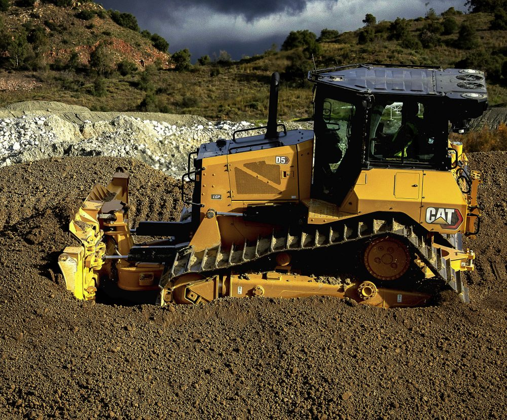 New Cat D5 Dozer delivers next gen performance and productivity-boosting tech