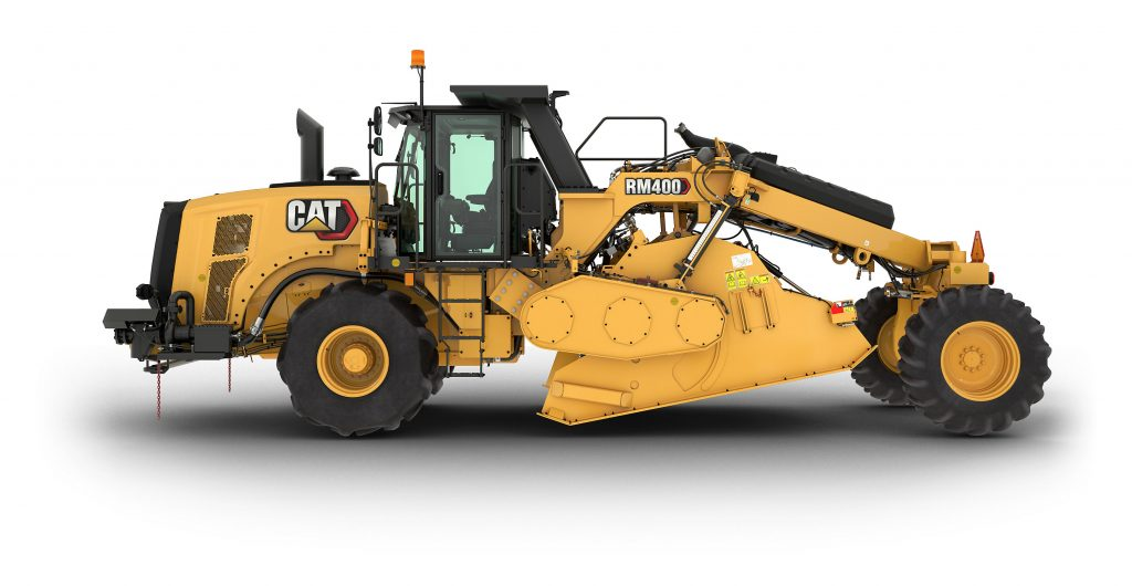 Caterpillar announces RM400 Rotary Mixer for reclamation and soil stabilization