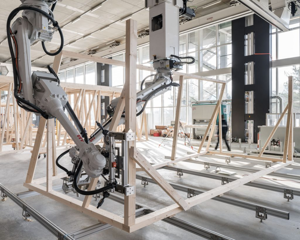 Are Home-building Robots The Future Of The Construction Industry? Photo courtesy of NEST EMPA