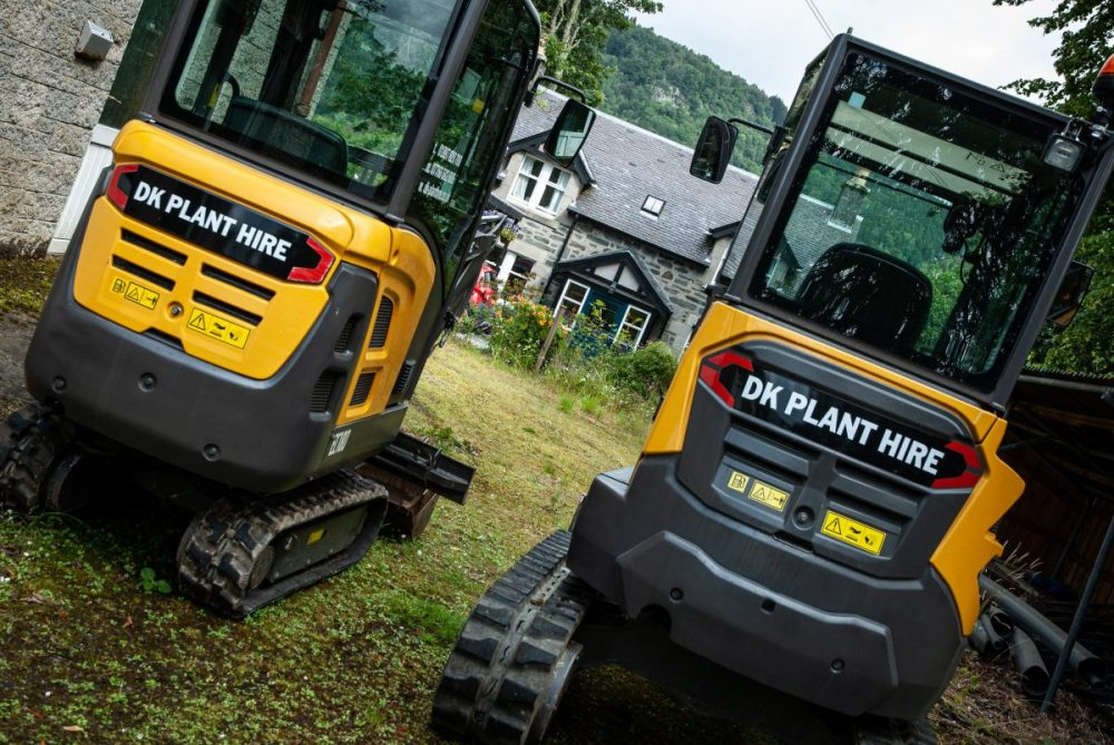 Volvo excavator demo sparks new business at D K Plant Hire
