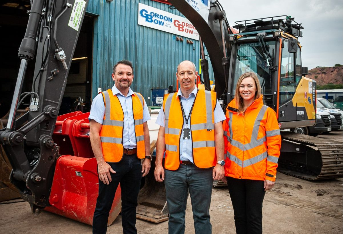 Gordon Bow Plant Hire invests in the future with Volvo Construction Equipment