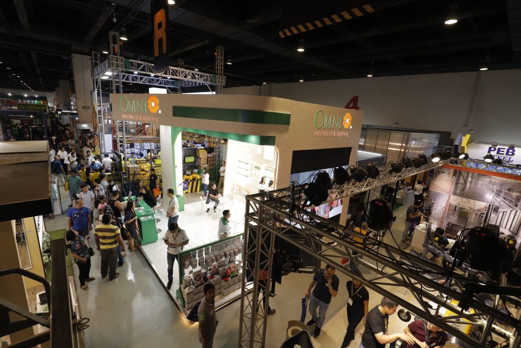 Meanwhile, visitors can expect a packed showcase of building materials, tools, interior products, and more at the SMX Convention Center