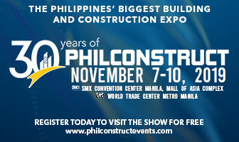 Philconstruct Manila 7-10 Nov 2019