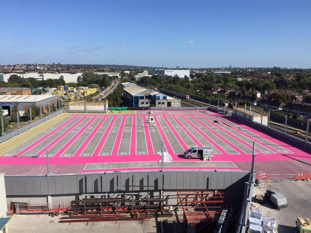 Miles Macadam completes Europe's only multi-storey coach park