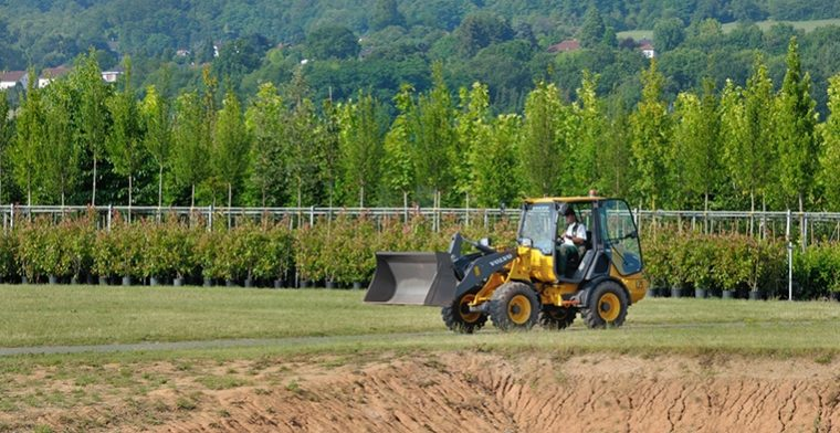 German tree farm putting Volvo's first electric compact wheel loader to the test