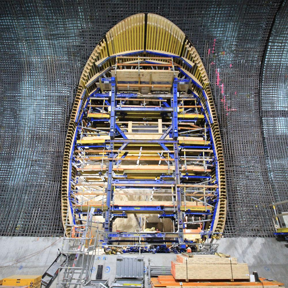 Sydney Metro proves to be Doka's largest tunnelling civil works project