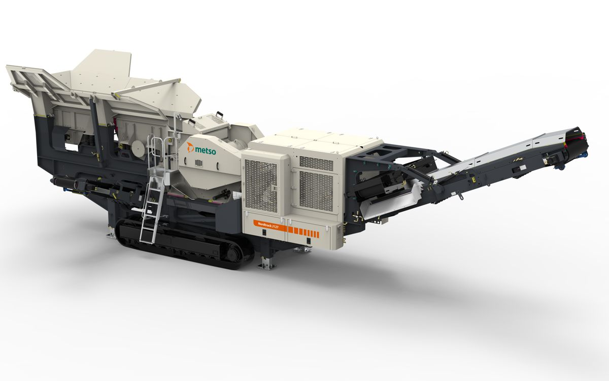 Metso launches new Nordtrack mobile crushing and screening range