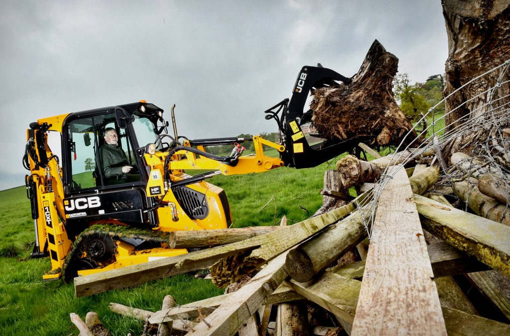 JCB digging deep to support Armed Forces Rehab Centre