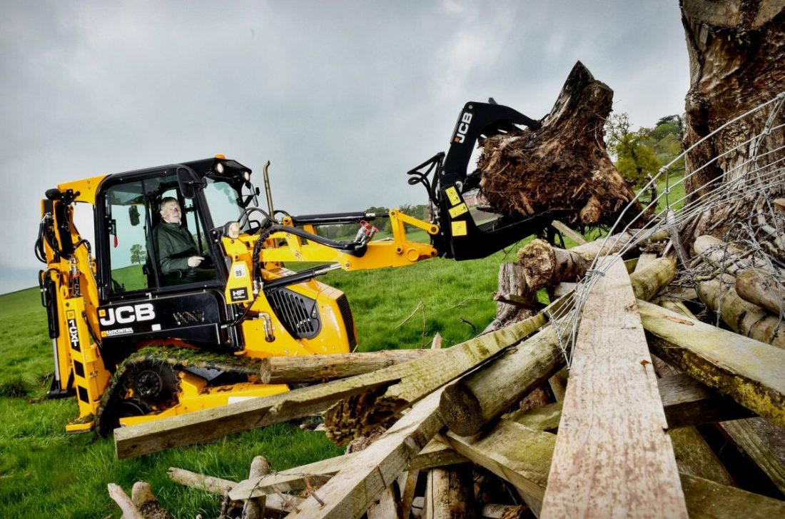 JCB digging deep to the new Defence and National Rehabilitation Centre