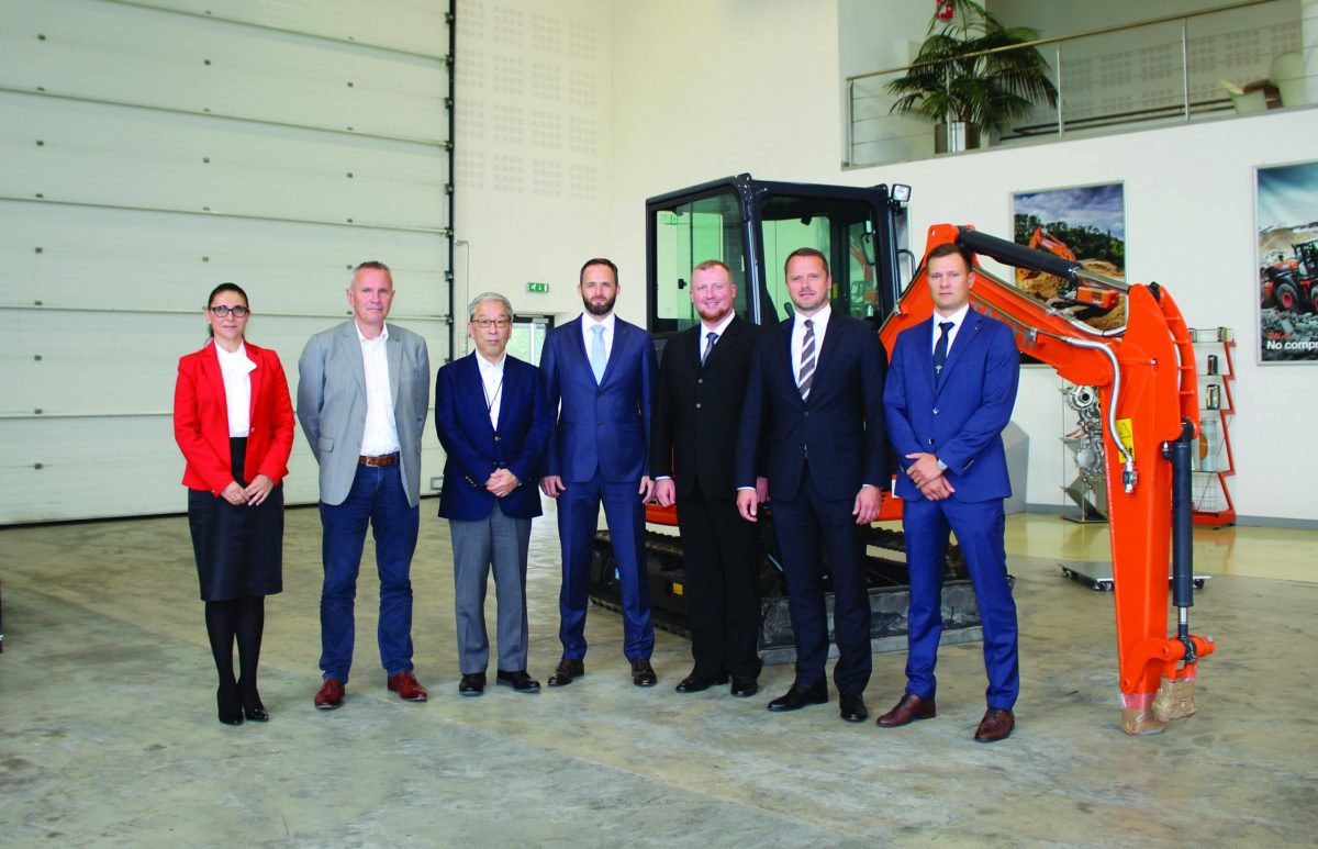 Hitachi Construction Machinery appoints new dealer for Latvia and Lithuania