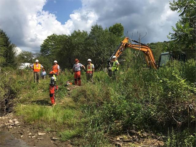 Medico Industries supporting Team Rubicon Flood Mitigation in Pennsylvania