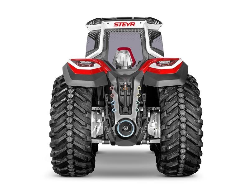Tractor of the future STEYR Konzept launched at Agritechnica 2019