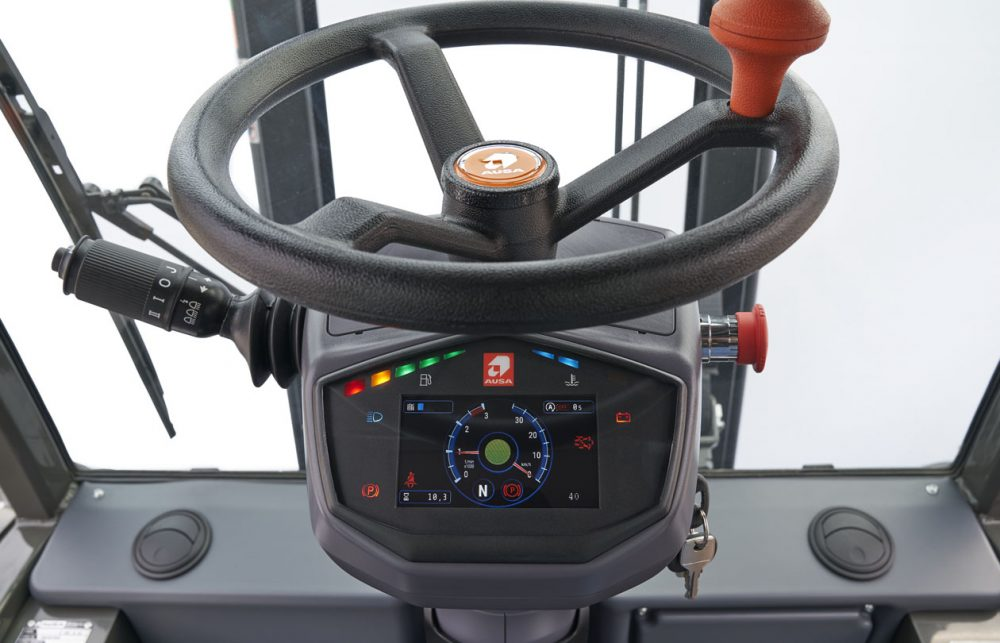 AUSA C251H forklift receives Technological Innovation recognition at Ecomondo Italy