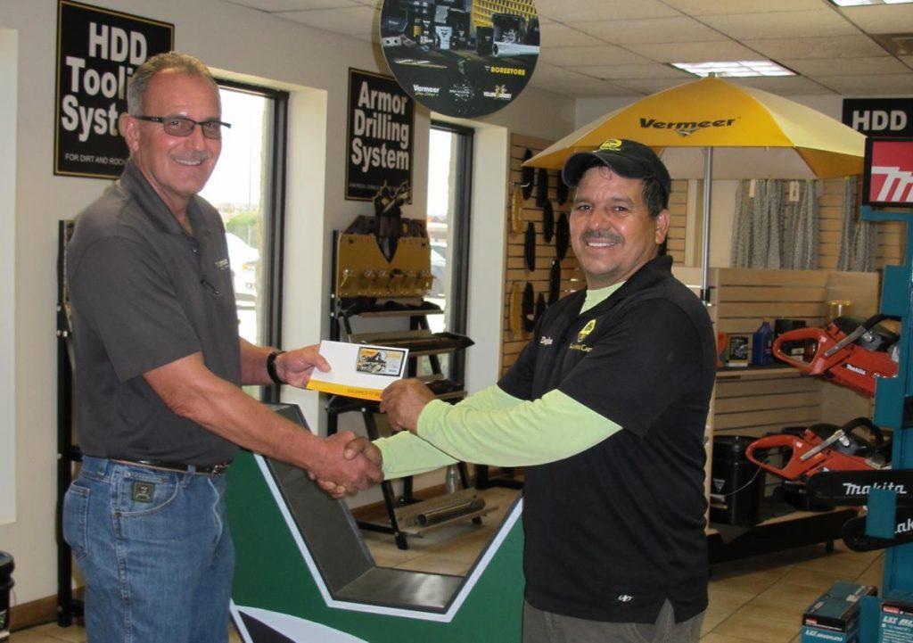 Texas contractor wins 2019 Vermeer MINI 500 Sweepstakes